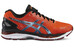 asics Gel-Nimbus 18 Shoe Men Flame Orange/Black/Silver